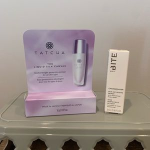 Tatcha Silk Canvas & Bite Beauty Primer Bundle